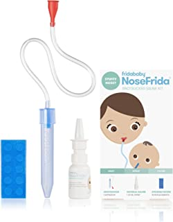 Baby Nasal Aspirator NoseFrida The Snotsucker with 10 Extra Hygiene Filters and..