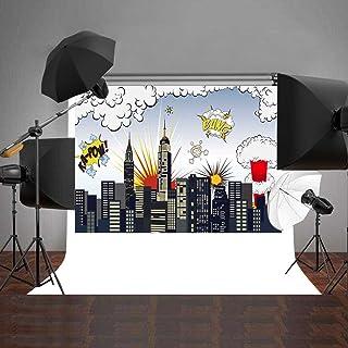 Daniu Fotohintergrund für Baby Fotostudio, Requisiten aus Vinyl, Hintergrund für Digitalfotografie, ca. 150 x 210 cm.