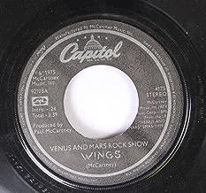 WINGS 45 RPM VENUS AND MARS ROCK SHOW / MAGNETO AND TITANIUM MAN