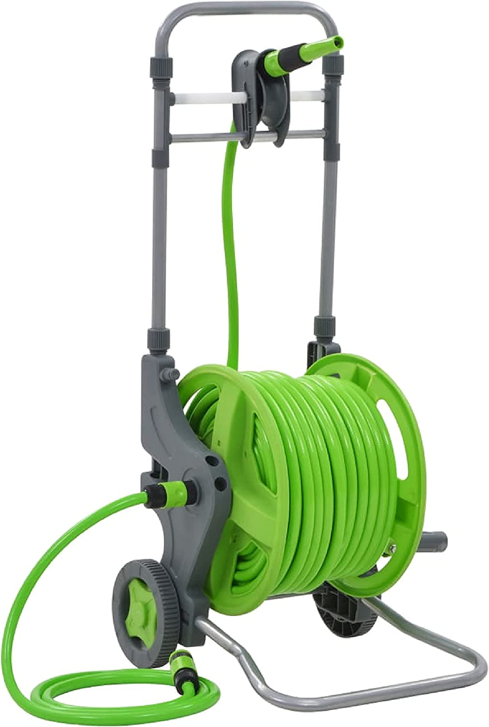 Garden Indianapolis Mall Hose Storage Water with Wheels 174.6'+6.6' Charlotte Mall Reel