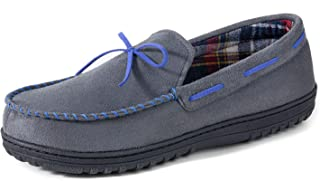 RockDove Men's Jacob Flannel Lined Moccasin