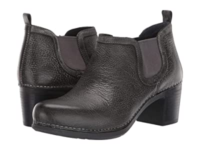 Dansko Harlene (Charcoal Distressed) Women