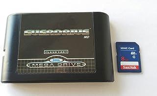 Everdrive Sega Megadrive MD genesis Flash Cart Mega Drive + 8 Gb Sd Card