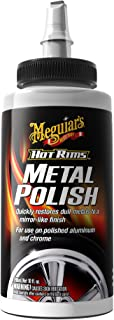 Meguiar's G4510 Hot Rims Metal Polish, 10 oz.