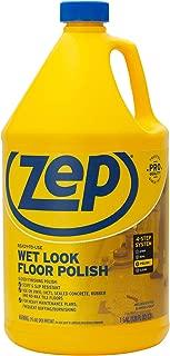 Zep Commercial 1044898 Wet Look Floor Polish, 1 gal Bottle
