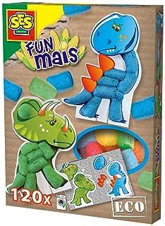 Ses France - 24953 - Kit De Loisirs Créatifs - Funmais Cartes - Dino