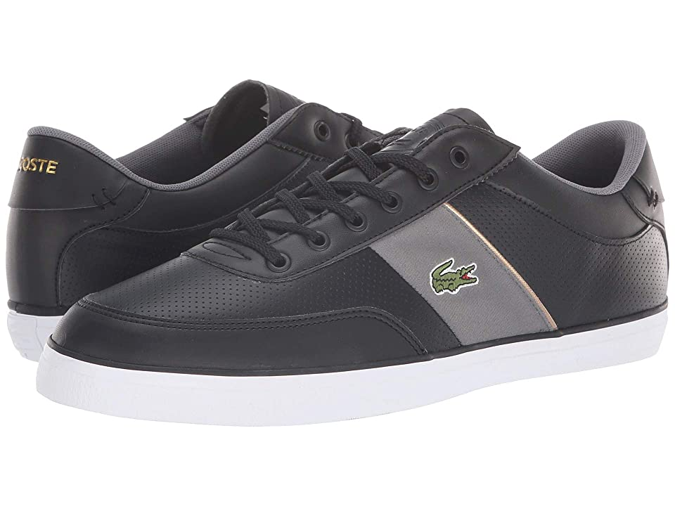 Lacoste Court-Master 318 1 (Black/Dark Grey) Men