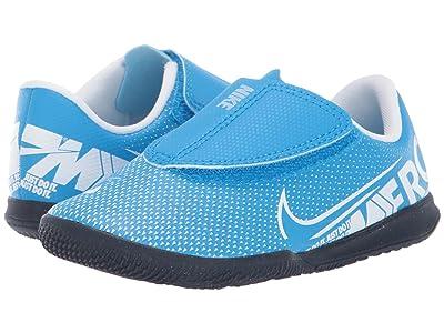 Nike Kids Jr Vapor 13 Club IC (Toddler) (Blue Hero/White/Obsidian) Kids Shoes
