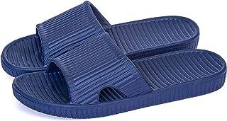 Happy Lily Women/Men's Slip On Slippers Non-Slip Shower Sandals House Mule Soft Foams Sole Pool Shoes Bathroom Slide Water...