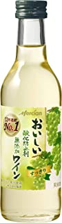 【13年連続売上No.1】メルシャン おいしい酸化防止剤無添加白ワイン [ 180mlx24本 ]