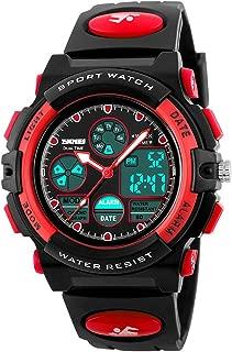 eYotto Kids Sports Watch, Multi-Function Boys Girls Digital Wristwatch Waterproof LED Alarm Stopwatch