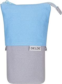 DELDE Pen Case, Cool Light Blue