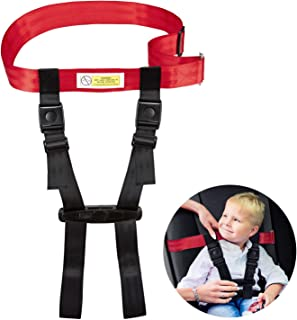 Child Safety Harness Airplane Travel Clip Strap, Travel Harness Safety System Approved by FAA, Airplane Safety Travel Harness for Baby, Toddlers & Kids