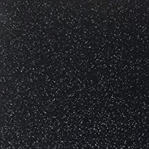 """Black Glitter Cardstock - 10 Sheets Premium Glitter Paper - Sized 12"""" x 12"""" - Perfect for Scrapbooking, Crafts, Decoration..."""