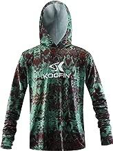 Performance Fishing Hoodie Long Sleeve Hooded Sunblock Shirt UPF 50 Dry Fit Quick-Dry Hoody Sports Sweatshirt