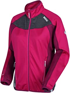 Regatta Women's Yare Warm Backed Extol Stretch Softshell Jacket Soft Shell, Duchess/Beetroot, Size: 18