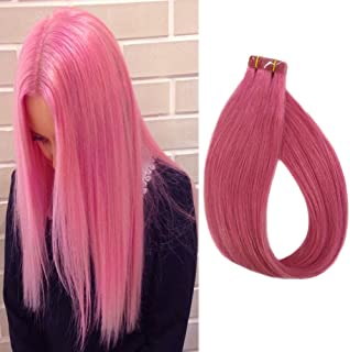 Pink Extensions Tape ins 16
