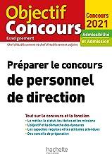 Livres Préparer le concours de personnel de direction 2021 PDF