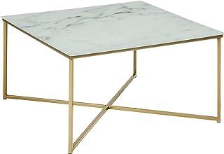 Amazon Brand - Movian Rom - Mesa de centro 80 x 80 x 45 cm blanco