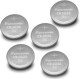 Panasonic CR2032-5PK CR2032 3V Lithium Coin Battery (Pack of 5)