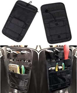 Vehicle Motorcycle Bike Universal Internal Saddle Bags Small Tools Organizer Bags, Black