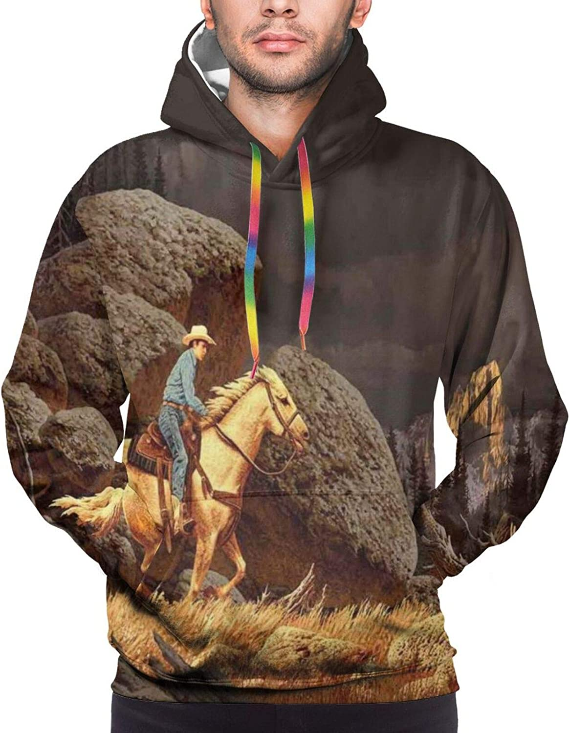 Men's Hoodies Sweatshirts,A Real Photo Image of Four Killer Whales Coming Out of The Sea Artwork