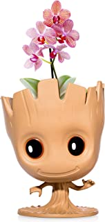 """I Am Groot"" Flower Pot: Cute Decorative Planter Pot Can Also Be Used As Pens Holder, Storage Container Or DIY Indoor Plant Growing 