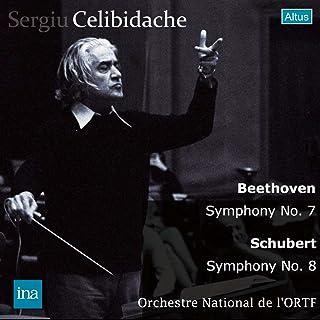 ベートーヴェン : 交響曲 第7番 | シューベルト : 交響曲 第8番 「未完成」 他 (Beethoven : Symphony No.7 | Schubert : Symphony No.8 , etc. / Sergiu Celibid...