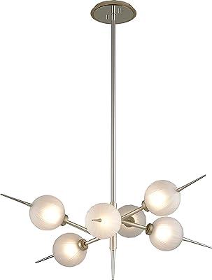 Amazon.com: Tempest 6 - Lámpara de araña (hoja de satén ...
