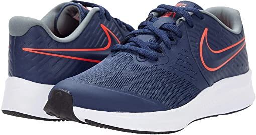 Midnight Navy/Bright Crimson/Smoke Grey