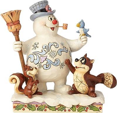 (Standard) - ENESCO Frosty and Woodland Friends Figure Standard