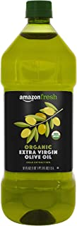 AmazonFresh Organic Extra Virgin Olive Oil, 1.5L (50.7 FL OZ)