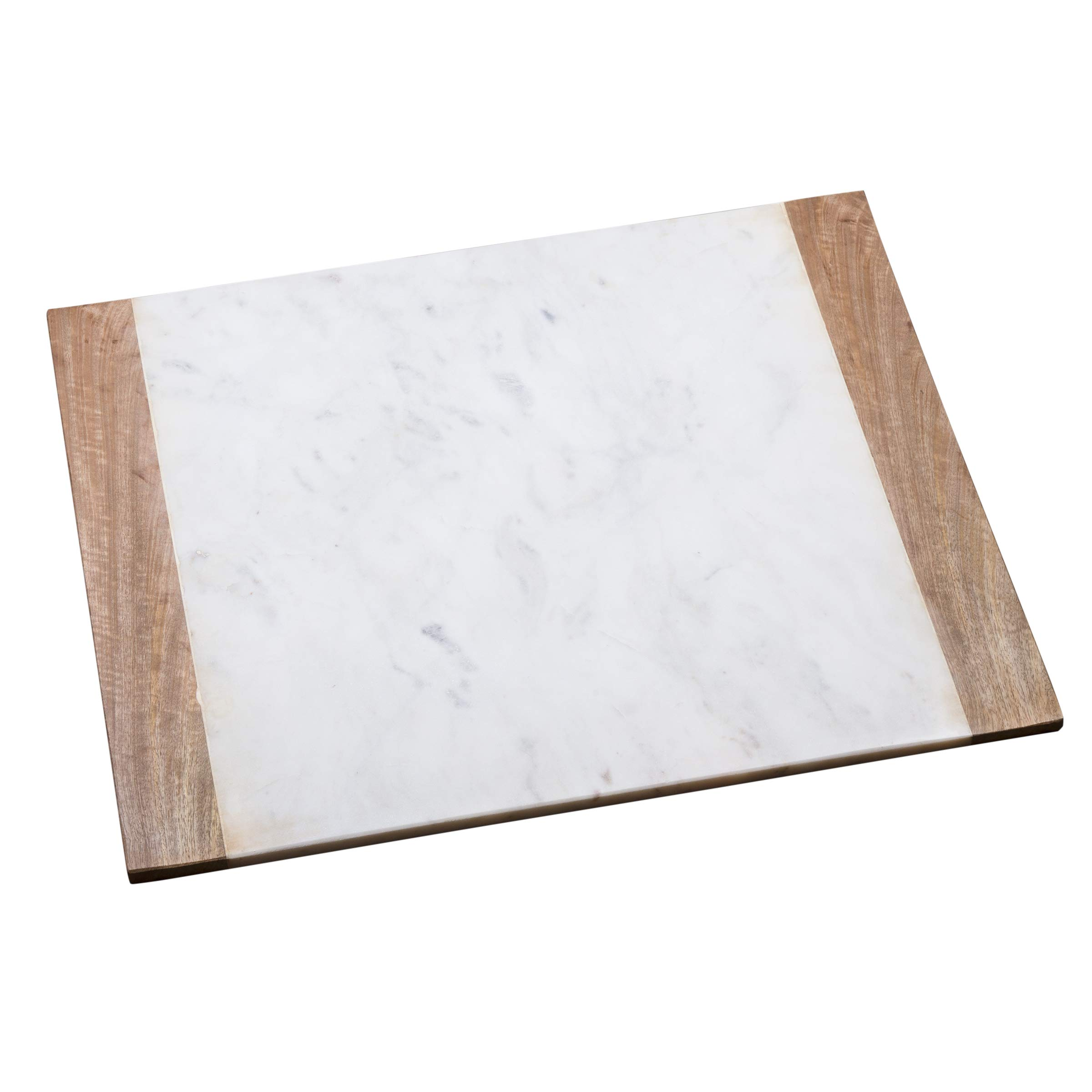 Cheese Board Creative Home 84078 Natural Green Marble 8 Inches Round Trivet Diameter