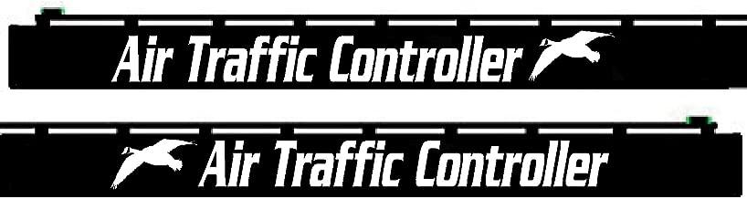 Shotgun Barrel Decal - Air Traffic Controller - SBD011 (White)