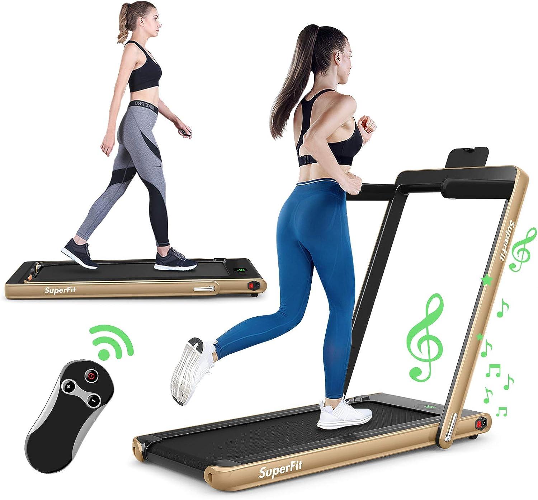 GYMAX 2 in 1 Ranking TOP13 Folding Treadmill Machi Walking 2021 spring and summer new Under Running Desk