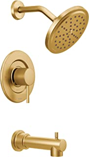 Moen T3293BG Align Moentrol Volume Control Modern Tub and Shower Trim Kit, Valve Required, Brushed Gold