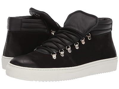 Massimo Matteo Hiking Sneaker (Black/Black) Men