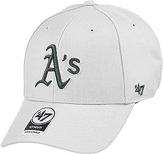 47 Brand リラックスフィット キャップ - MVP オークランド・アスレチックス (Oakland Athletics) グレー