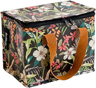 Insulated Lunch Box bag in Hibiscus print Women's by KOLLAB
