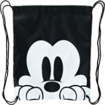 Disney Mickey Mouse Face Drawstring Tote Backpack
