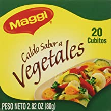 Maggi Vegetable Bouillon Cubes 2.82 Oz. - 2 Pack