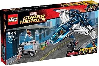 LEGO Marvel Super Heroes The Avengers Quinjet City Chase Set   PN 76032