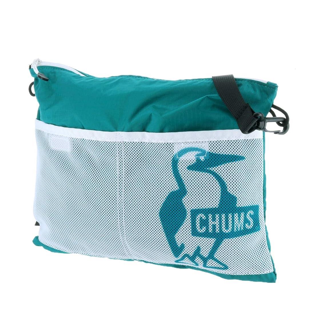 メンバーマイクロ実際に(チャムス) CHUMS サコッシュバッグ 5.ターコイズ