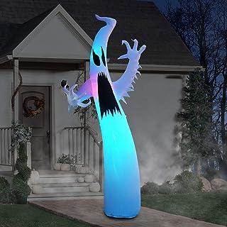 مصابيح PARAYOYO القابلة للنفخ بطول 30.48 سم للهالووين الشبح الرعب للديكور الداخلي والخارجي