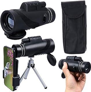 Xgood Monocular Telescope High Definition Monocular Telescope Waterproof Zoom Telescope with Smart Phone Holder and Tripod...