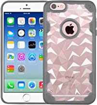MyBat Cell Phone Case for Apple iPhone 6s/6 - Retail Packaging - Grey/Transparent