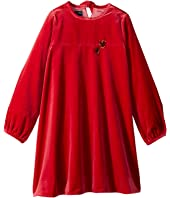 Oscar de la Renta Childrenswear - Embroidered Heart Dress (Little Kids/Big Kids)