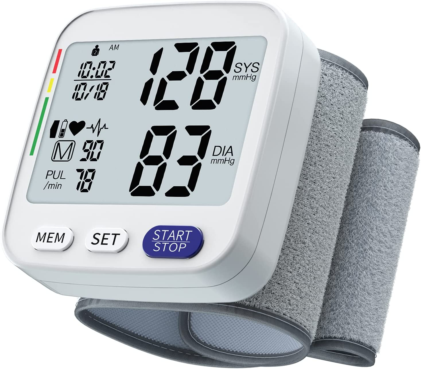 Blood Pressure Challenge the lowest price Monitor - Accurate High order Digital Automatic Cuff Wris BP