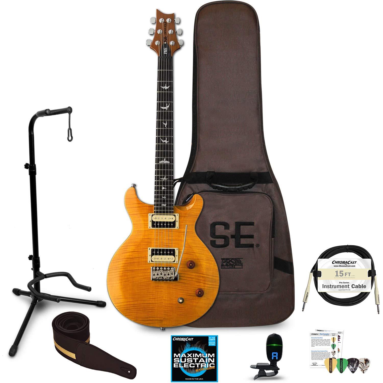 Cheap PRS SE Santana Electric Guitar with Accessories Santana Yellow Black Friday & Cyber Monday 2019