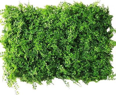 YNFNGXU Cobertura Artificial, Fondo De Pared De La Planta De Decoración De Bodas Jardín Exterior Verde Pantalla De Cercado De Privacidad Verde, 60 × 40 Cm (Color : 01): Amazon.es: Hogar